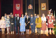 Foto al completo de los parlamentarios del Ayuntamiento de Archidona