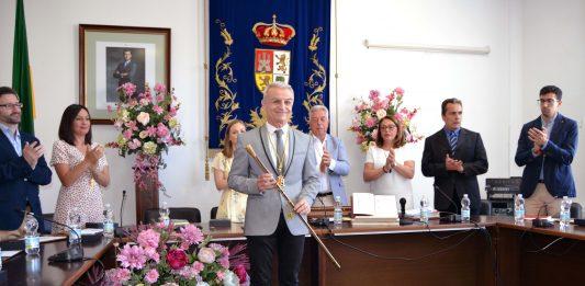 Francisco Guerrero tras tomar posesión como alcalde de Campillos
