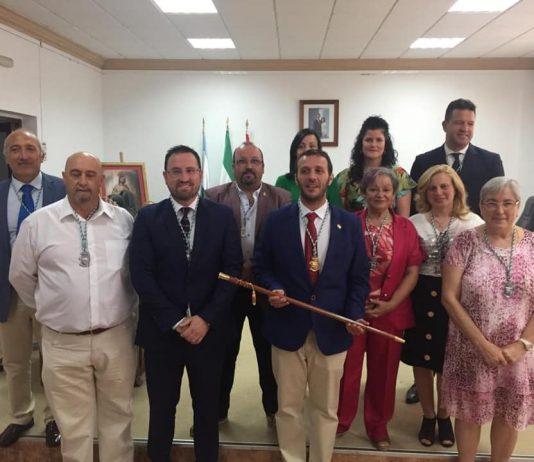 Grupo corporativo del Ayuntamiento de Sierra de Yeguas