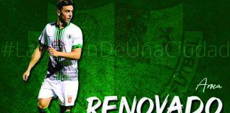 Juan Cala, renovado como jugador del Antequera C.F.