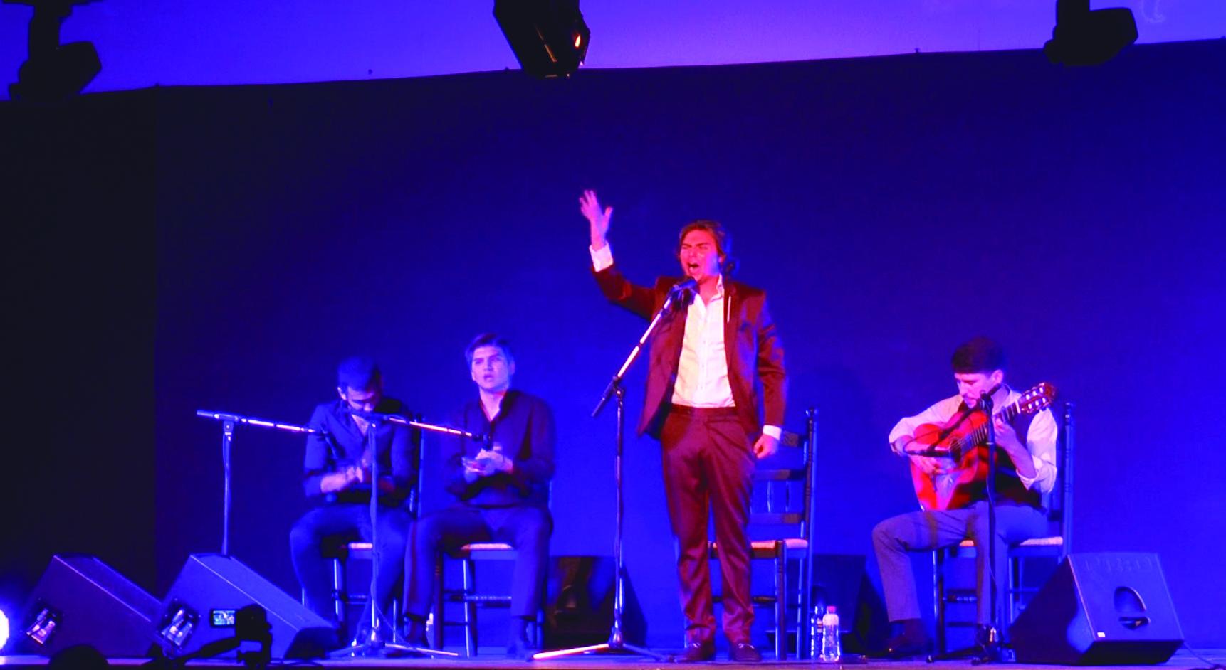 Actuación el pasado sábado en la `XXI Noche del Flamenco´ de Cartaojal