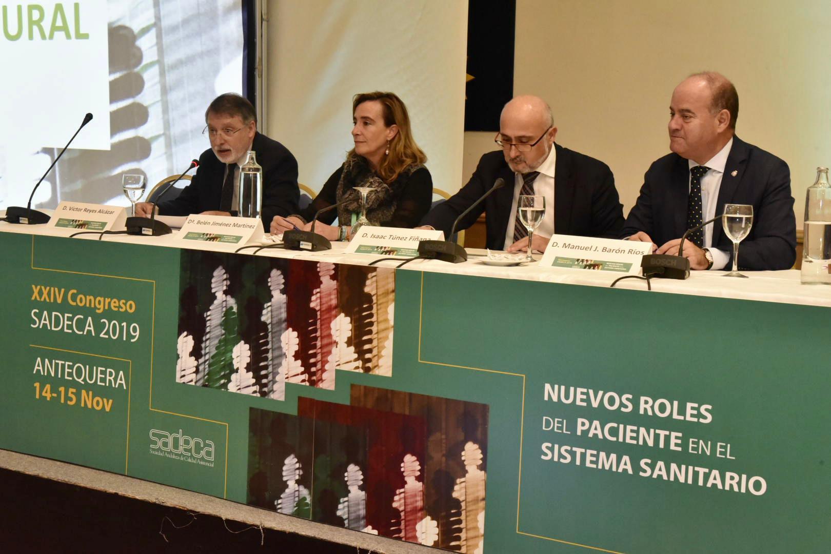 Antequera acoge el 'XXIV Congreso de la Sociedad Andaluza de Calidad Asistencial' - Las 4 Esquinas