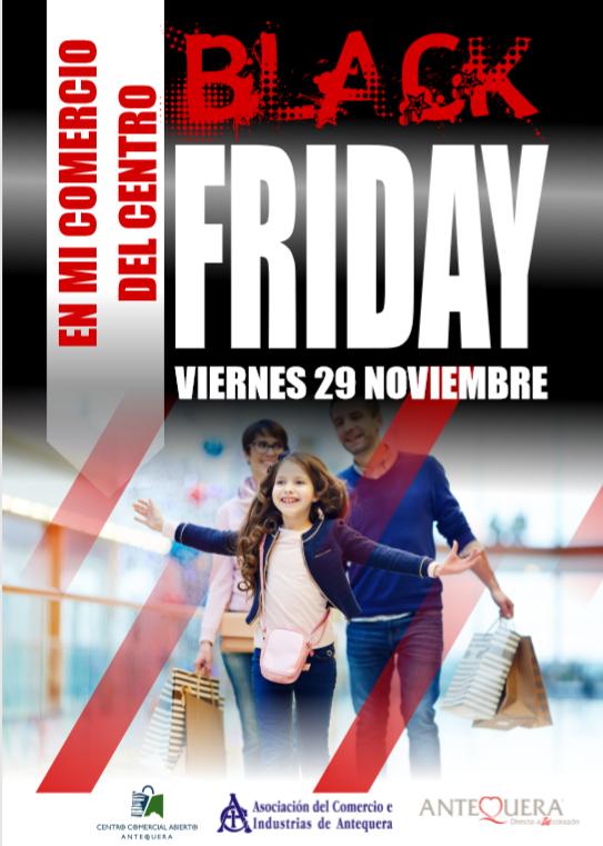 ACIA celebrará el Black Friday en los comercios asociados de Antequera - Las 4 Esquinas