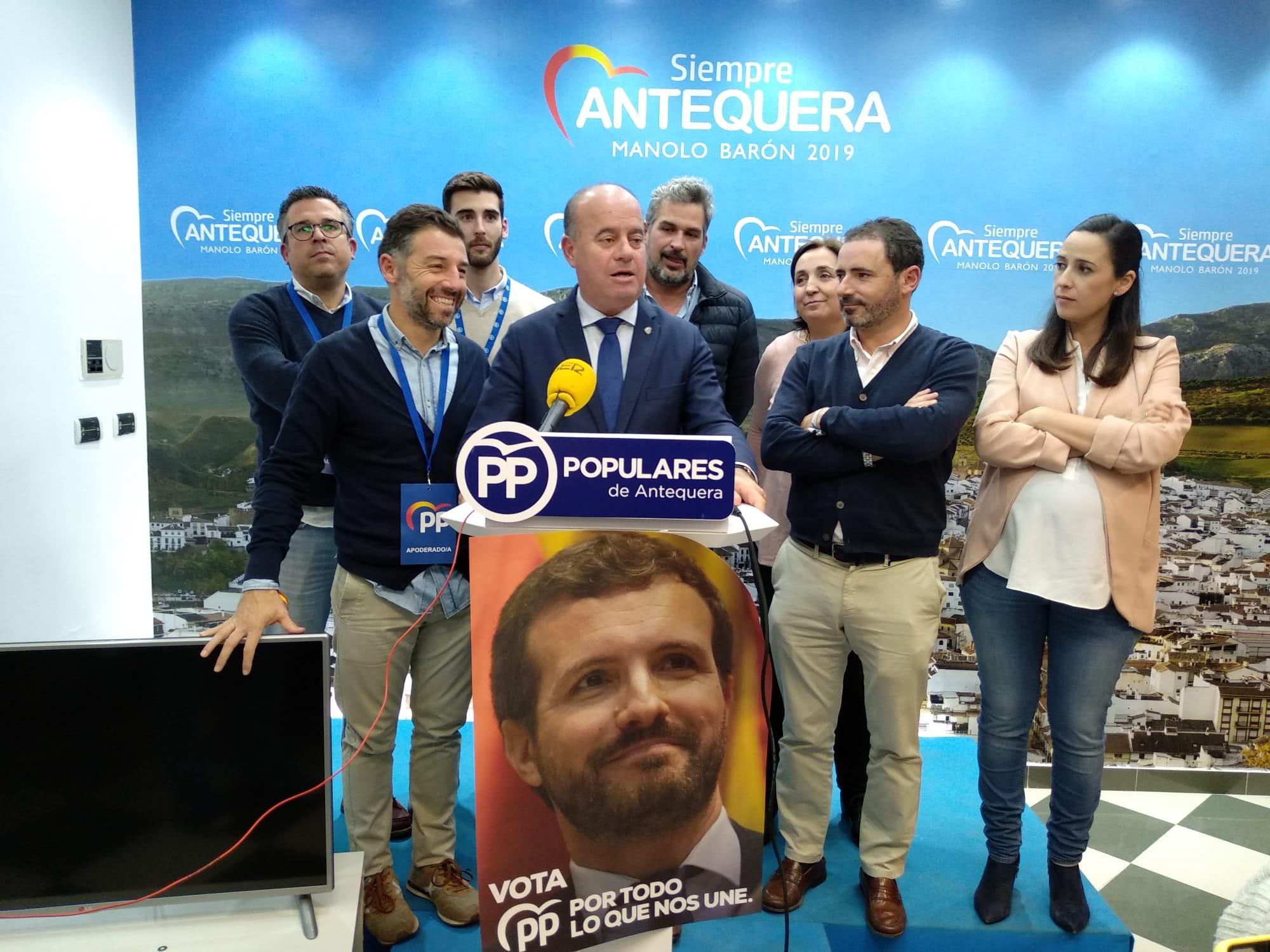 El Partido Popular, segunda fuerza en España y Antequera - Las 4 Esquinas